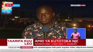 Watu wa Kondele Kisumu waendelea na shughuli wakati wa curfew