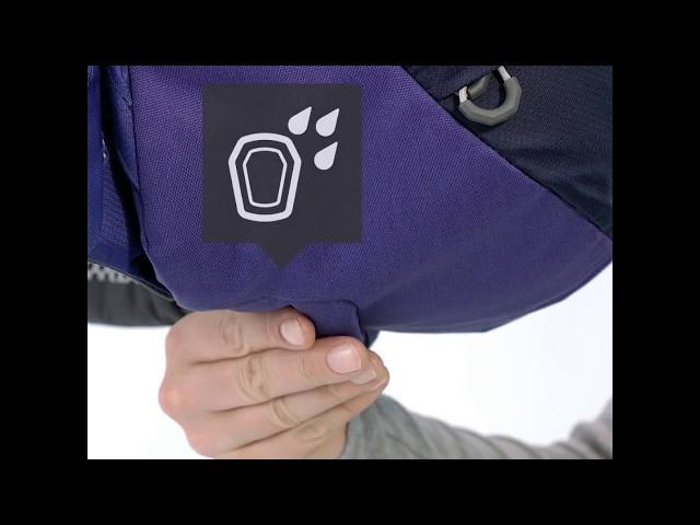 Видео Рюкзак Deuter Futura 28 azure-steel