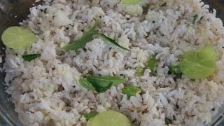 Gooseberry rice or Nellikai Sadam or Amla Rice