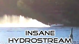 Hydrostream V-King w/ Evinrude 225 H.O. E-Tec - Fly Bys