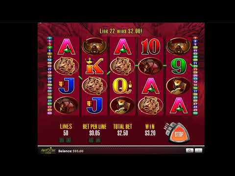 Play for free the 50 Dragons slot by Aristocrat