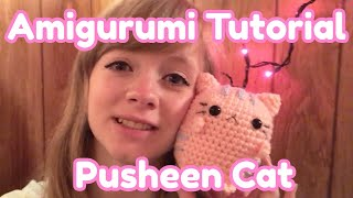 Amigurumi Beginner Tutorial - Pastel Pusheen Cat Crochet