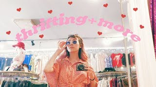 LA THRIFTING, DORM SHOPPING, ETC // CatCreature