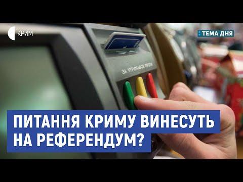 Питання Криму винесуть на референдум? | Гарань, Чубаров | Тема дня