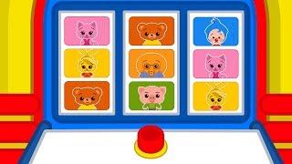 ¡Presiona el botón! El divertido juego de Plim Plim #02   A Jugar