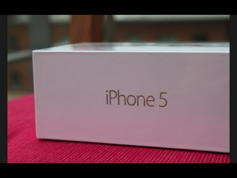 Unboxed: iPhone 5 64GB (White & Silver) + First Boot-Up