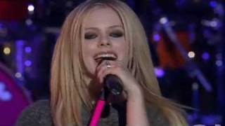AVRIL LAVIGNE The Best Damn Thing (YahoO Live)