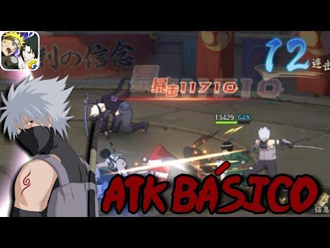 Naruto Online Mobile : Anbu Kakashi - Gameplay - смотреть