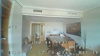 DJI fpv goggles ANALOG 1st trial