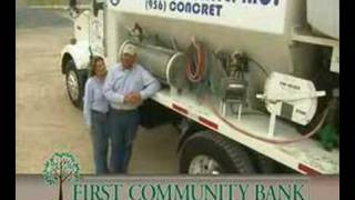 FIRST COMMUNITY BANK commercial