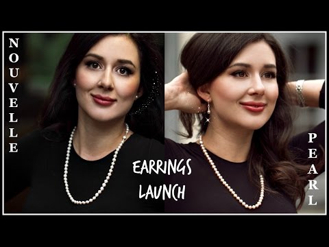 NOUVELLE PEARL EARRINGS LAUNCH + DISCOUNT!