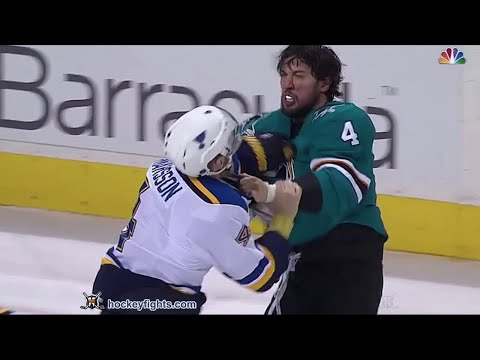 Brenden Dillon vs. Carl Gunnarsson