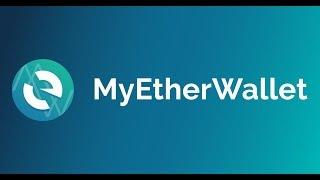 MyEtherWallet - кошелек для эфириума и его токенов. Обзор.