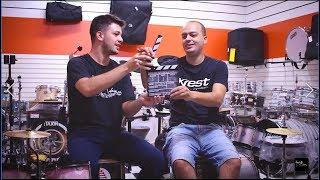 Alysson Rezende No Sala De Música | Workshop Krest Cymbals Na Musical Sandro | Entrevista Exclusiva