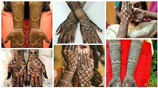 Bridal Mehndi Designs For Full Hands Images 2019 | Bridal Mehndi Photos