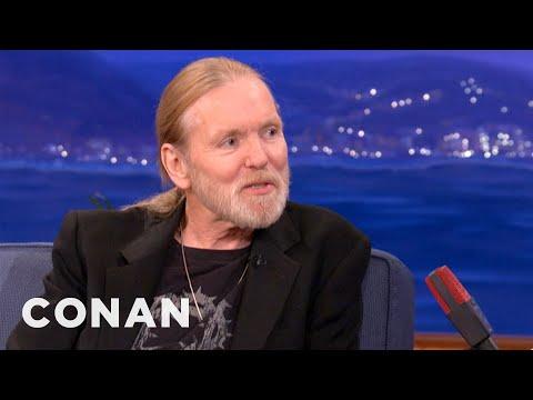 Gregg Allman Reminisces On His Allman Brothers Days - CONAN on TBS