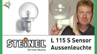 STEINEL Sensor Außenleuchte L 115 S [watt24-Video Nr. 80]