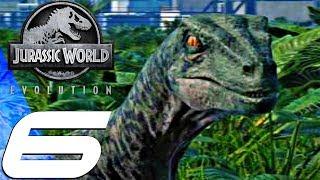 Jurassic World Evolution - Gameplay Walkthrough Part 6 - Velociraptor (Ultra Settings)