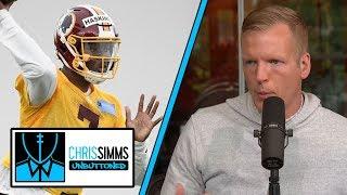 Simms: Dwayne Haskins impressing Washington Redskins early on | Chris Simms Unbuttoned | NBC Sports