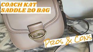 Coach Kat Saddle 20 Bag - Pros And Cons