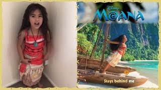 Moana | Fans Sing How Far I'll Go! | Disney Junior UK