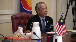 Ucapan YAB Tan Sri Muhyiddin Yassin di Sidang Kemuncak Khas ASEAN mengenai COVID-19 (14 April 2020)