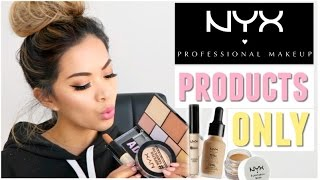 Full Face Using Only NYX Cosmetics Makeup!