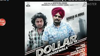 Dollar(full HD Video) By Sidhu Moose Wala||dakuaan Da Munda