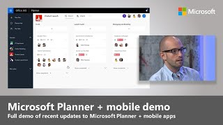 Microsoft Planner – Review of mobile apps, deeper Office 365 integration + task automation