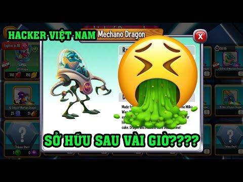 BẮT GẶP THANH NIÊN HACKER VN SỞ HỮU VIP MYTHIC QUÁ NHANH?? - Dragon City Game Mobile Android, Ios