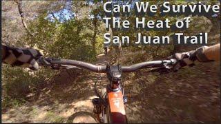 Mountain Biking San Juan Trail.