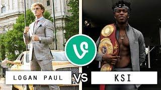LOGAN PAUL vs KSI Vine Battle / Who's the Best