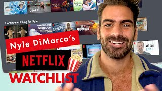 Actor Nyle DiMarco's Go-To Netflix and Chill Show Is Real HOT | Through My Queue | Cosmopolitan by Cosmopolitan