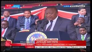 2016 JUMHURI DAY FETE - President Uhuru angered by Naivasha Speed bumps