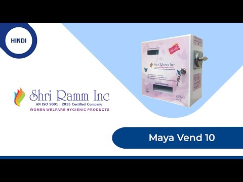 Special Token Acceptor Sanitary Napkin Vending Machine