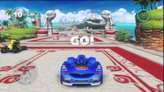 Sonic & All-Stars Racing Transformed - Quicklook (Nintendo Wii U)