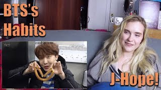 BTS's Habits: Hoseok (J Hope)
