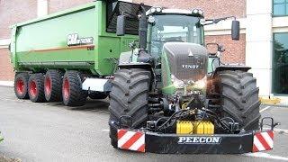 FENDT Traktoren im Einsatz   Claas Jaguar 950   Hawe Abschiebewagen   AgrartechnikHD