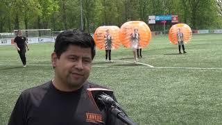 Bubbelvoetbal in Waalwijk