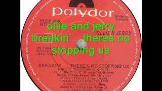 ollie and jerry - breakin`...theres no stopping us (club mix)