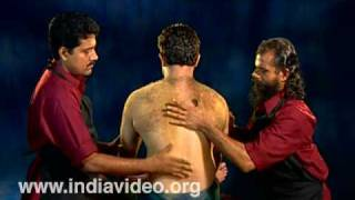 Udwartana treatment in Ayurveda - another stage