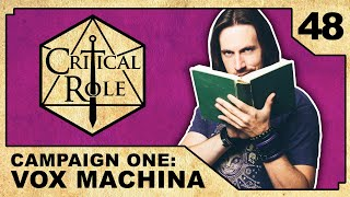 Into the Frostweald | Critical Role RPG Show Episode 48