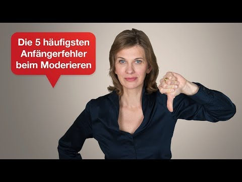 Die schlimmsten Anfängerfehler von Moderatoren I Tipps für Ihren überzeugenden Auftritt | #48