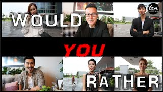 Celebrities Play: Would You Rather?  Ft: Han Wei, Pierre, Cyhthia, Carrie, Paige & Aloysius
