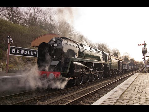 The Severn Valley Railway Spring Steam Gala 17th & 18th Marc…