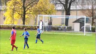 preview picture of video 'SG Medizin Großschweidnitz vs. FSV Empor Löbau (27.10.2013)'