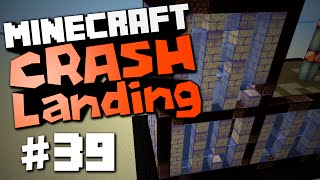 "Minecraft Crash Landing #39 ""+5000 -5000 Secret Base"""