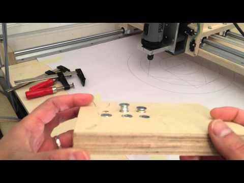 CNC Video #008: Einschraubmuttern