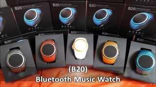 """Колонка бютуз Music Watch-B20 (серый) от компании """"Магазин Все, Что Нужно"""" - видео"""