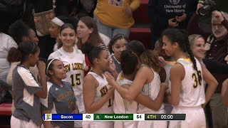 Highlights: ECC girls basketball final NL 54, Bacon Academy 40